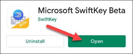 صفحه کلید SwiftKey در اندروید