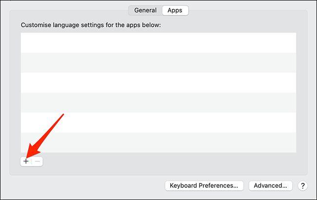 تغییر زبان یک برنامه در مک