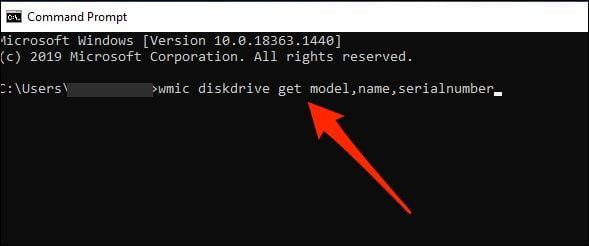 اجرای دستور در CMD