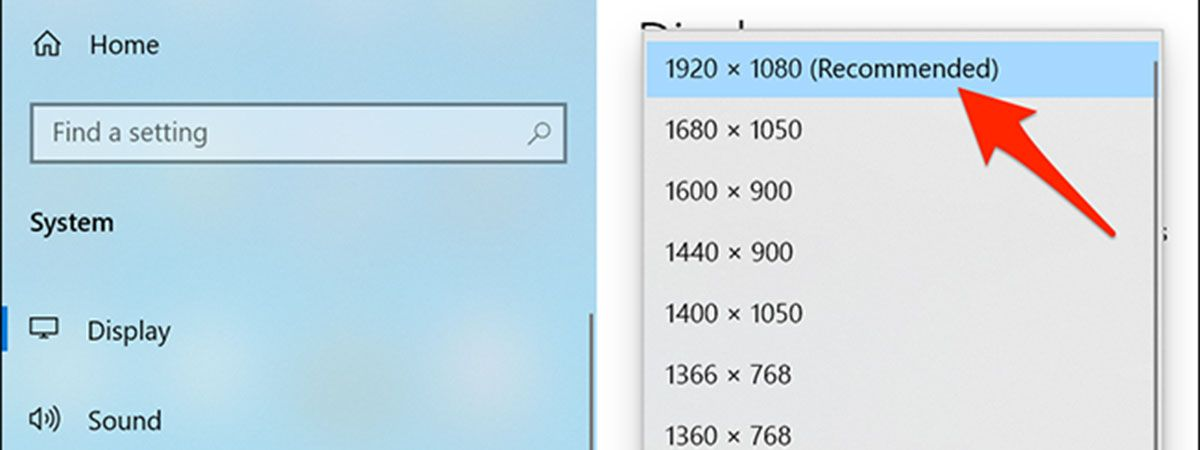 نحوه نحوه بررسی رزولوشن نمایشگر در ویندوز ۱۰