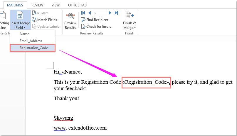 ارسال ایمیل گروهی در اکسل