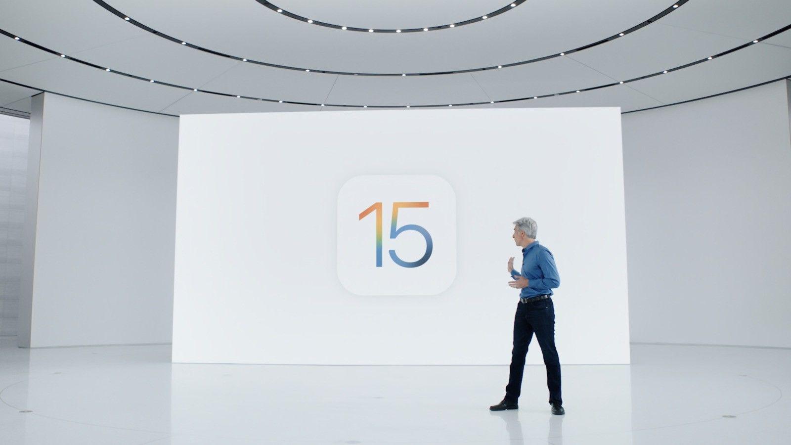 کاور مطلب معرفی iOS 15