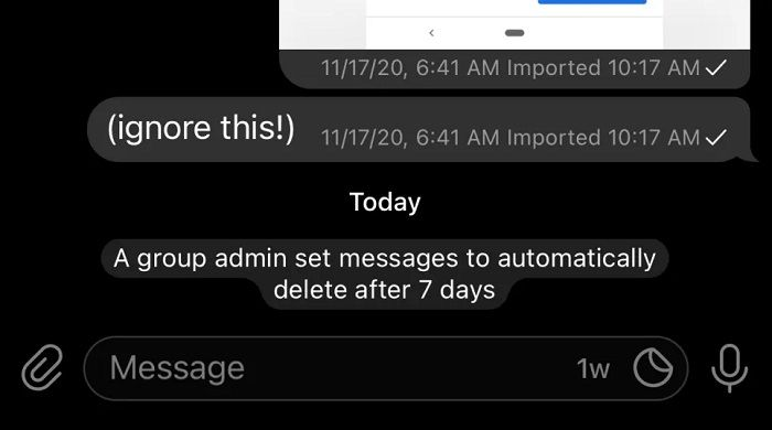 حذف خودکار کلیه پیام ها از تلگرام