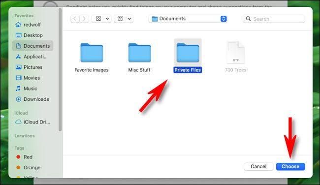 آموزش خارج کردن پروندهها و فایلها از نتایج جستجوی Spotlight در مک - 4
