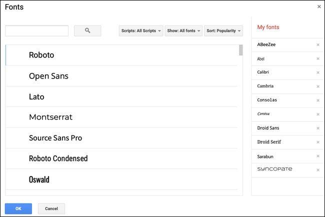 روش پیدا کردن، افزودن و حذف فونتها از Google Docs - 2