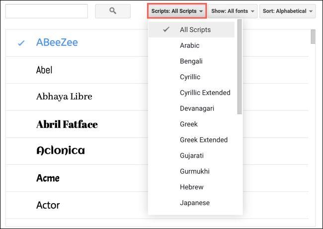 روش پیدا کردن، افزودن و حذف فونتها از Google Docs - 4
