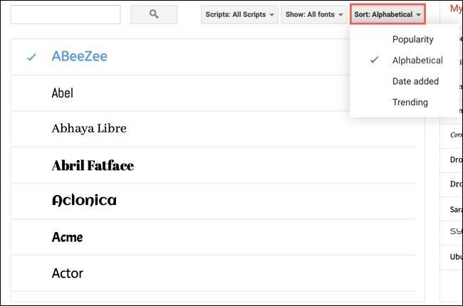 روش پیدا کردن، افزودن و حذف فونتها از Google Docs - 6