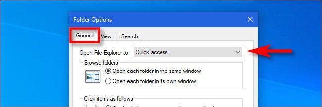 آموزش جایگزین کردن This PC به جای Quick Access در ویندوز 10 - 2