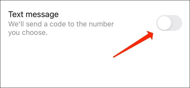 فعال سازی تایید دو مرحله ای اینستاگرام از طریق SMS