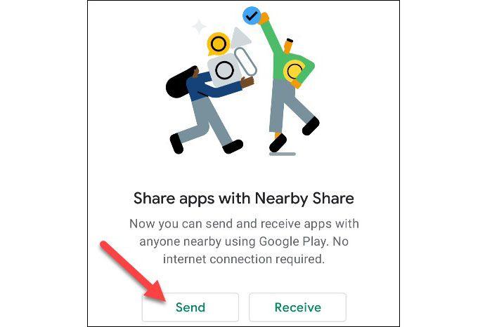 اشتراکگذاری برنامه با Nearby Share - 4