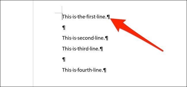 سریعترین روش برای حذفخطوط خالی از فایل ورد