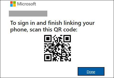 QR code در اپلکیشن یور فون