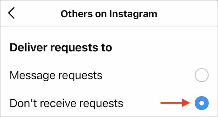 انتخاب dont recieve requests