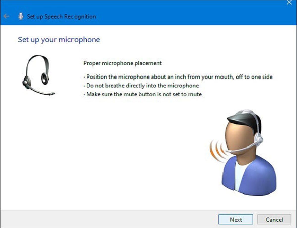 چطور در ویندوز ۱۰ با استفاده از صدای خود تایپ کنیم