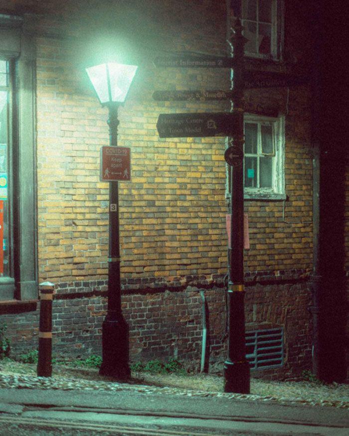 عکاسی در نور خیابان