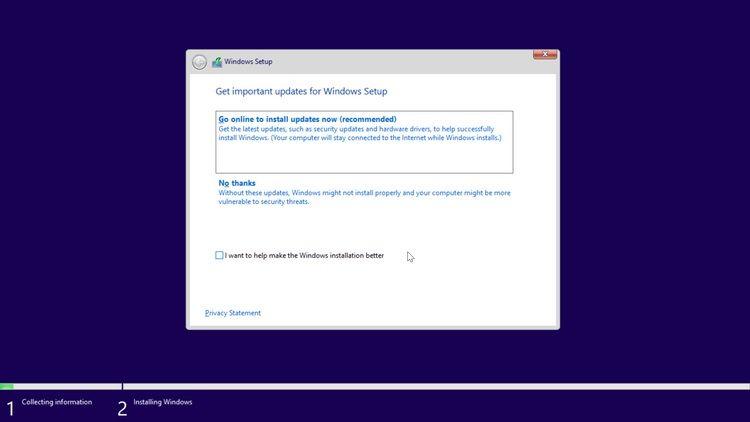 مراحل نصب ویندوز 11