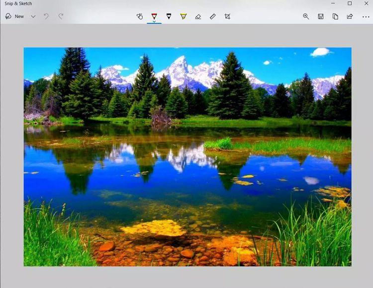 اسکرینشات در ویندوز ۱۰ با ابزار Snip & Sketch
