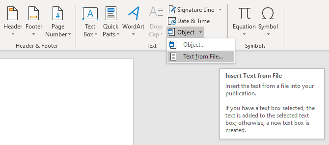 قرار دادن پی دی اف درون ورد - فایل گپ