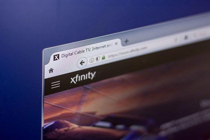 تست سرعت xfinity
